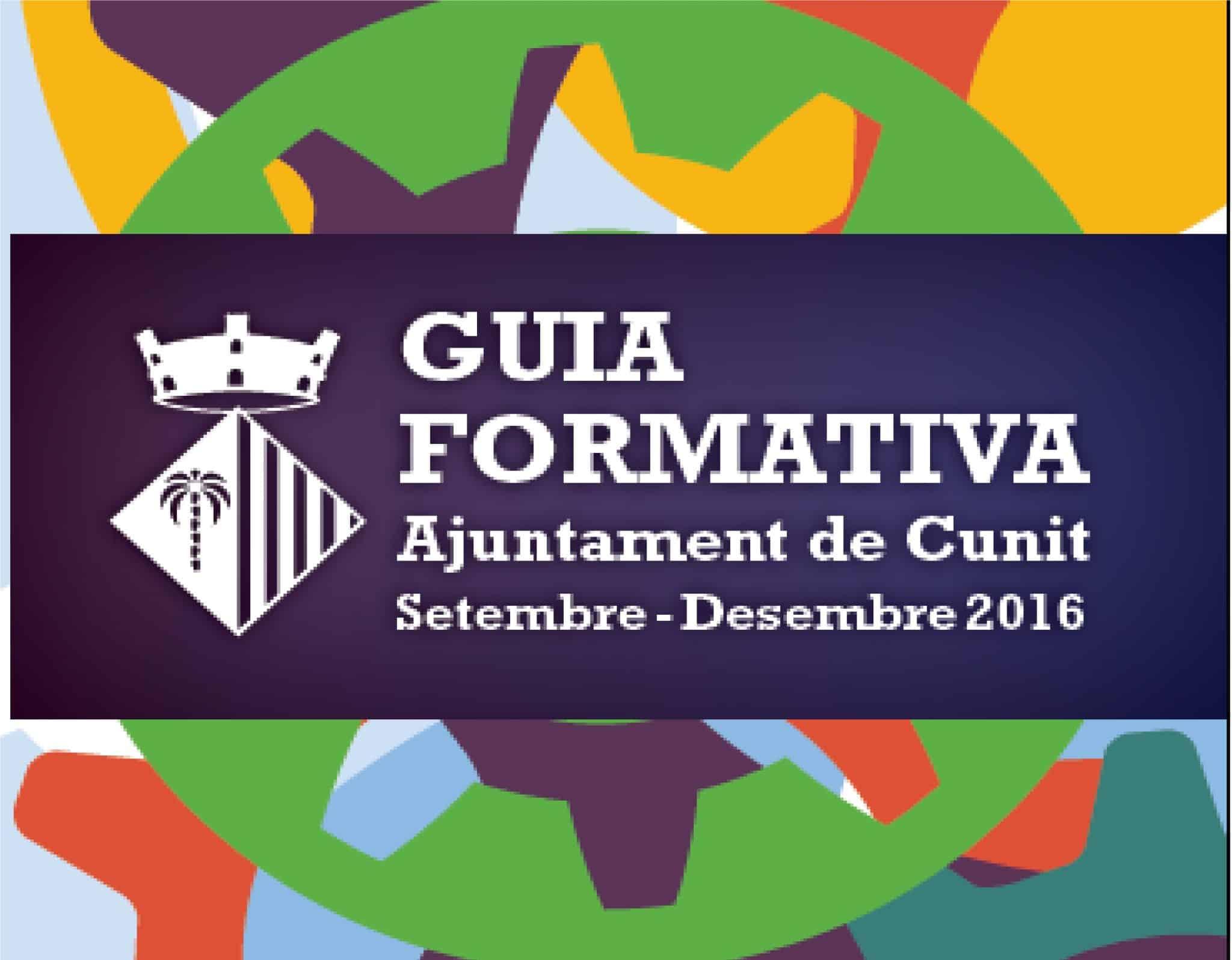Noves accions formatives 1er trimestre setembre-desembre 2016.