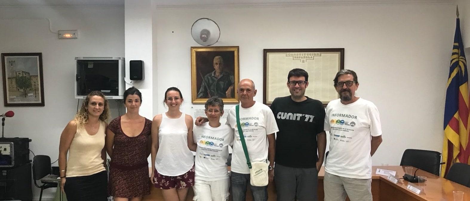 FINALITZACIÓ DE CONTRACTE DE DOS INFORMADORS AMBIENTALS A CUNIT DINTRE DEL PROGRAMA TREBALL I FORMACIÓ 2017