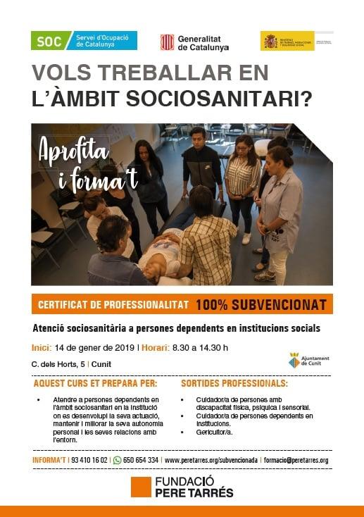 10/1/2019 – Sessió informativa CP Atenció Sociosanitària