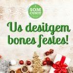 El SOM Cunit us desitja molt Bones Festes!