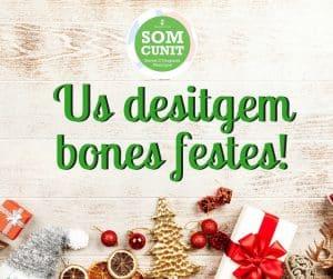 Imatgen de El SOM Cunit us desitja molt Bones Festes! 6