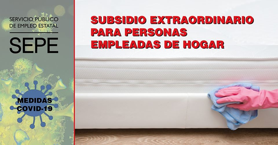 Obert el termini per sol·licitar el subsidi Extraordinari per persones treballadores de la llar.
