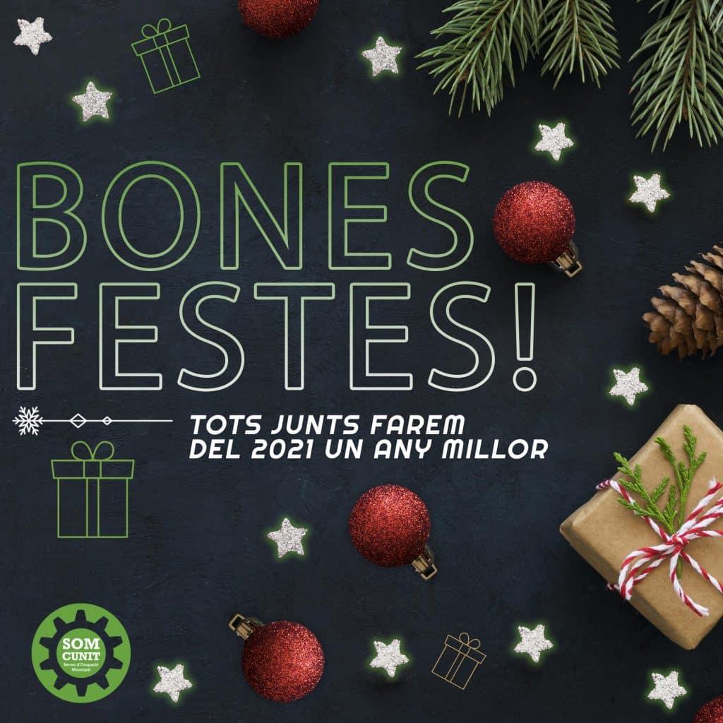 Imatgen de L'equip del SOM Cunit us desitgem molt bones festes! 6